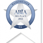 aust bridal industry awards 3rd place 2012