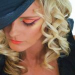 Hair extensions and neon makeup by Adelaide mobile hair and makeup artist Make-Overs Australia