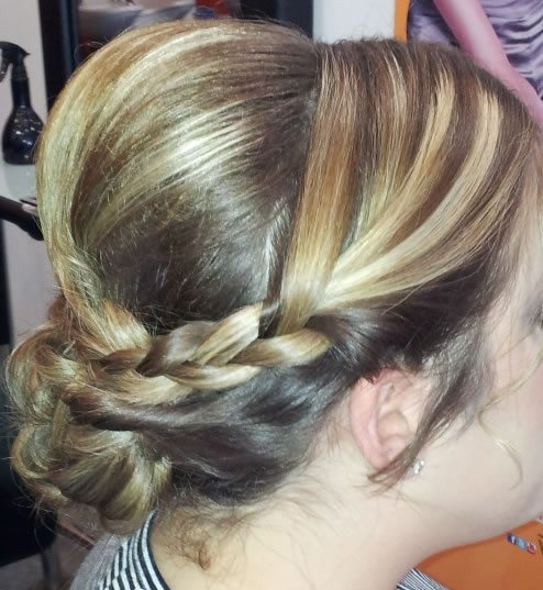 wedding hair styles - with braid added 02