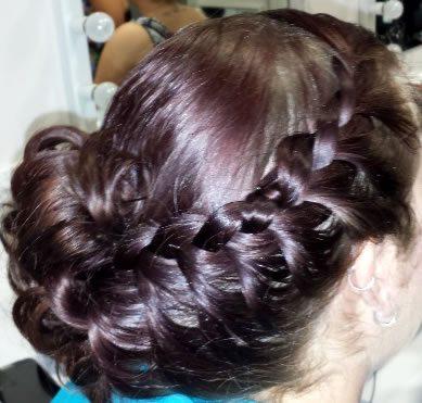 wedding hair styles - with braid added 03