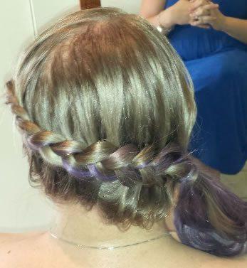 wedding hair styles - with braid added 04